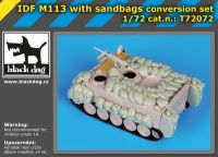 T72072 1/72 IDF M113 with sandbags conversion set