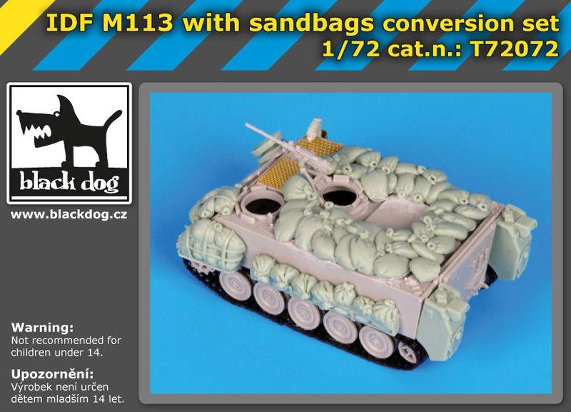 T72072 1/72 IDF M113 with sandbags conversion set Blackdog