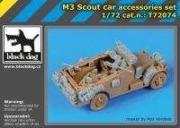 T72074 1/72 M 3 Scout car accessories set