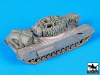 T72076 1/72 Churchil Mk IV Blackdog