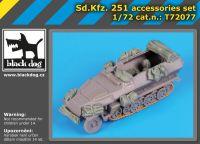 T72077 1/72 Sd.Kfz.251 accessories set