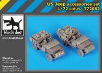 T72082 1/72 US Jeep accessories set