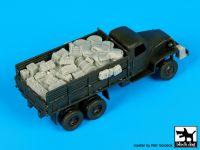 T72084 1/72 GMC 353 accessories set Blackdog