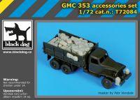 T72084 1/72 GMC 353 accessories set