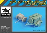 T72086 1/72 S.d.Ah32+S.d.Ah 24 complet kit