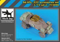 T72090 1/72 Sd.Kfz 222 accessories set