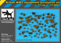 T72091 1/72 British WW II equipment accessories set