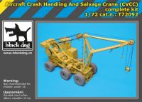 T72092 1/72 Aircraft crash handling and salvage crane complete kit
