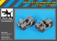 T72094 1/72 IDF M-151 accessories set