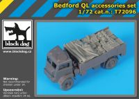 T72096 1/72 Bedford QL accessories set
