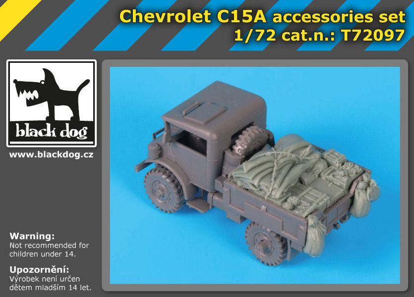 T72097 1/72 Chevrolet C15A accessories set Blackdog