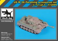 T72099 1/72 US M26 Pershing accessories set