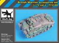 72100 1/72 British Warrior accessories set Blackdog
