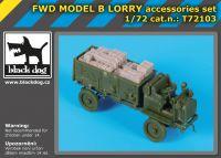 T72103 1/72 FWD MODEL B Lorry accessories set