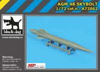 A72062 1/72 AGM 48 Skybolt Blackdog