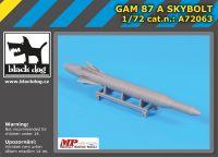 A72063 1/72 GAM 87 A Skybolt