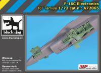 A72065 1/72 F-16 C electronics