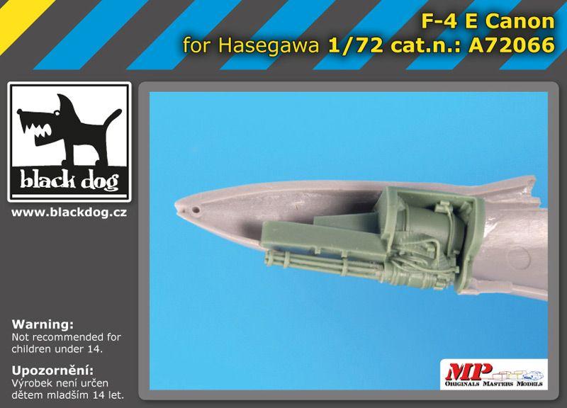 A72066 1/72 F-4 E canon Blackdog