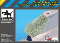 A72068 1/72 Ch-46 D rear engine Blackdog