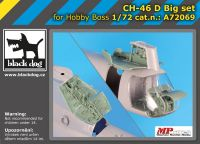 A72069 1/72 Ch-46 D big set