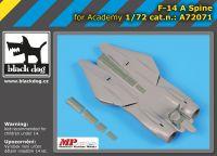 A72071 1/72 F-14 A spine