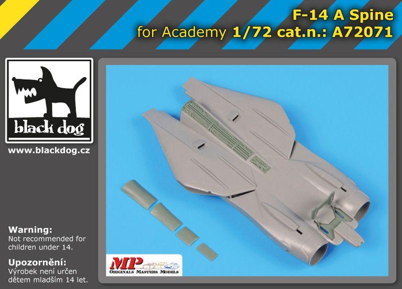 A72071 1/72 F-14 A spine Blackdog