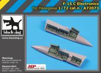 A72073 1/72 F-15 C electronics Blackdog