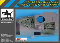 A72077 1/72 SH 60 B Sea Hawk engine