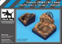 D35105 1/35 Trench  WW I N°3