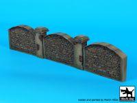 D35107 1/35 Stone wall Blackdog