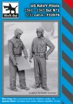 F32076 1/32 US NAVY pilots 1940-45 set N°1
