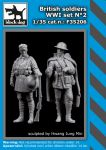 F35206 1/35 British soldiers WW I set N°2