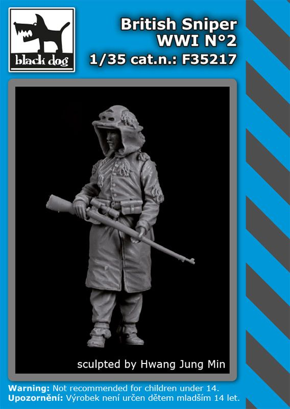F35217 1/35 British sniper WW I N°2 Blackdog