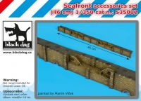 S350002 1/350 Seafront accessories set Blackdog