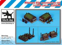 S35006 1/350 Houses big accessories set Blackdog
