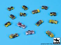 S700005 1/700 Deck tractors accessories set Blackdog