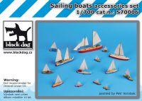 S700006 1/700 Sailing boats