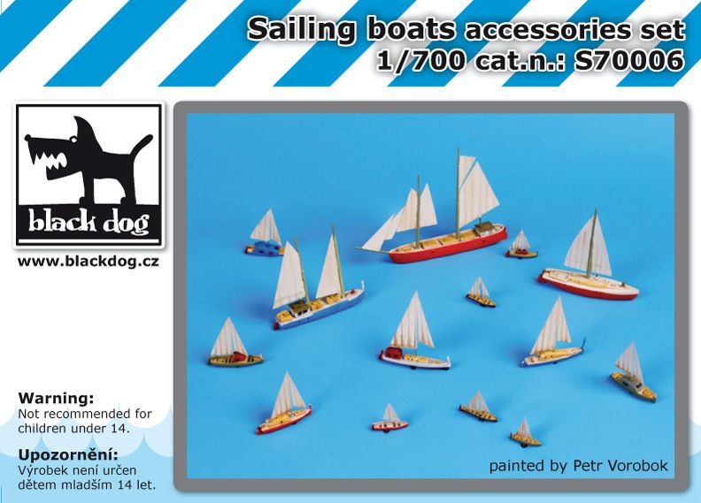 S700006 1/700 Sailing boats Blackdog