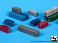 S700007 1/700 Transport containers Blackdog