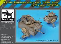 SFT72001 XP-M4 Sherman army vers Little John