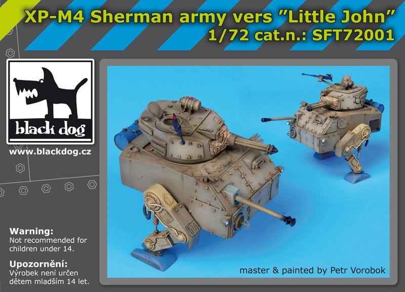SFT72001 XP-M4 Sherman army vers Little John Blackdog