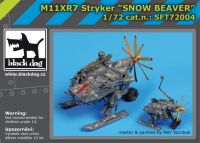 SFT72004 M11XR7 Stryker snow beaver Blackdog