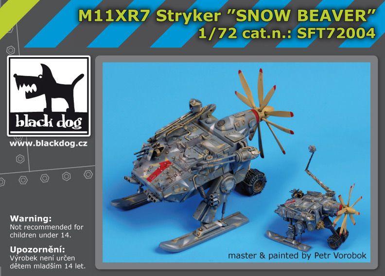 SFT72004 M11XR7 Stryker snow beaver Blackdog