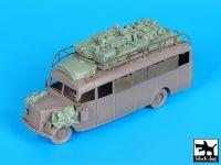 T72105 1/72 Opel 3.6-47 Omnibus stabwagen accessories set Blackdog