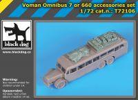 T72106 1/72 Voman Omnibus 7 or 660 accessories set