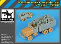 T72107 1/72 M 35 Gun truck conversion set