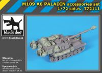 T72111 /72 M 109 A6 Paladin accessories set Blackdog