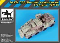 T72113 1/72 SD.Kfz 233 Stummel accessories set