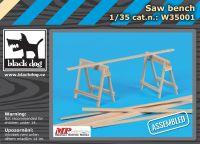W35001 1/35 Saw bench