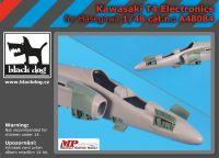 A48084 1/48 Kawasaki T 4 electronics